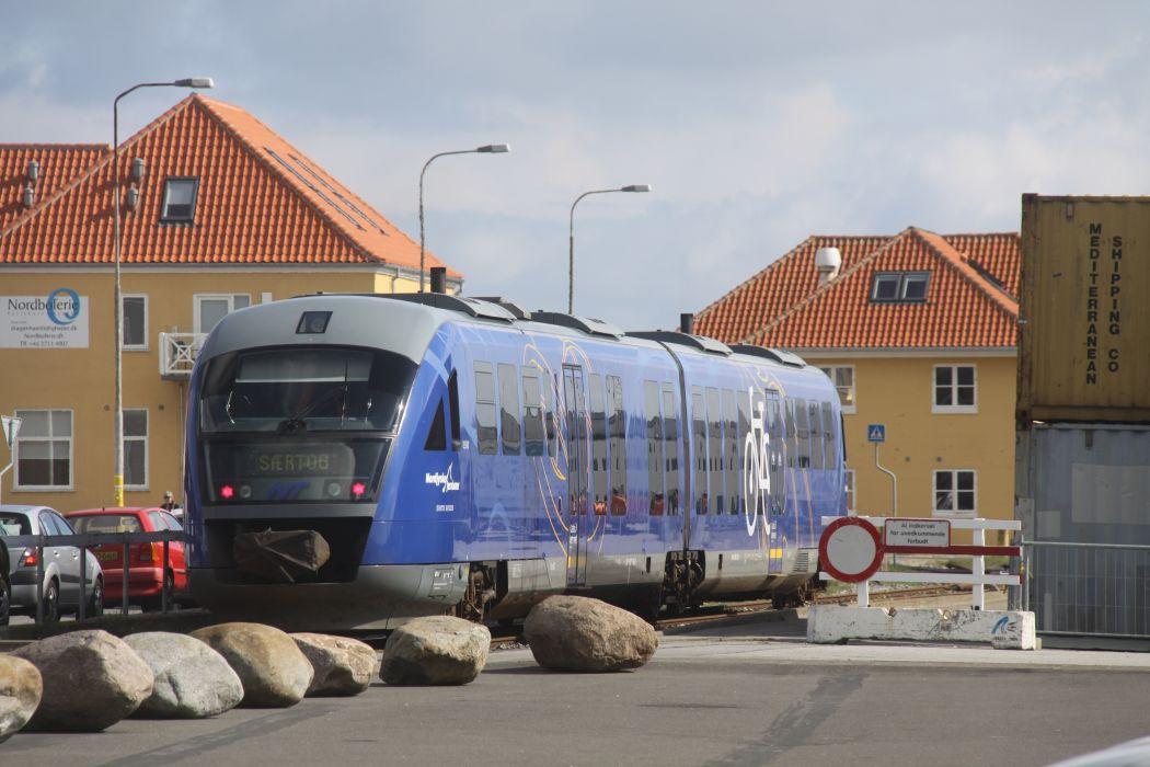 Train Skagen Denmark wallpaper
