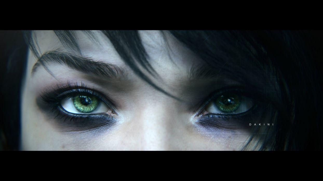 Beyond Good And Evil 2 Game Dakini Eyes Video Game Wallpaper