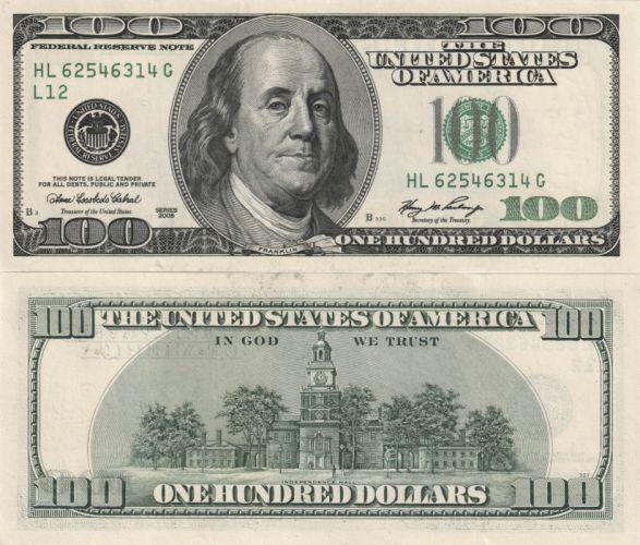 Money Banknotes Dollars 100 dollars wallpaper