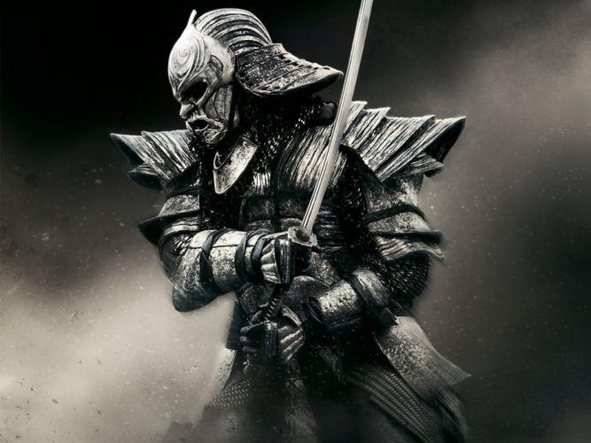 Warriors 47 Ronin Armor Sabre Helmet Samurai Movies Fantasy wallpaper