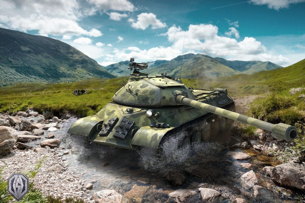 World of Tanks Tanks IS-3 Games 3D Graphics wallpaper
