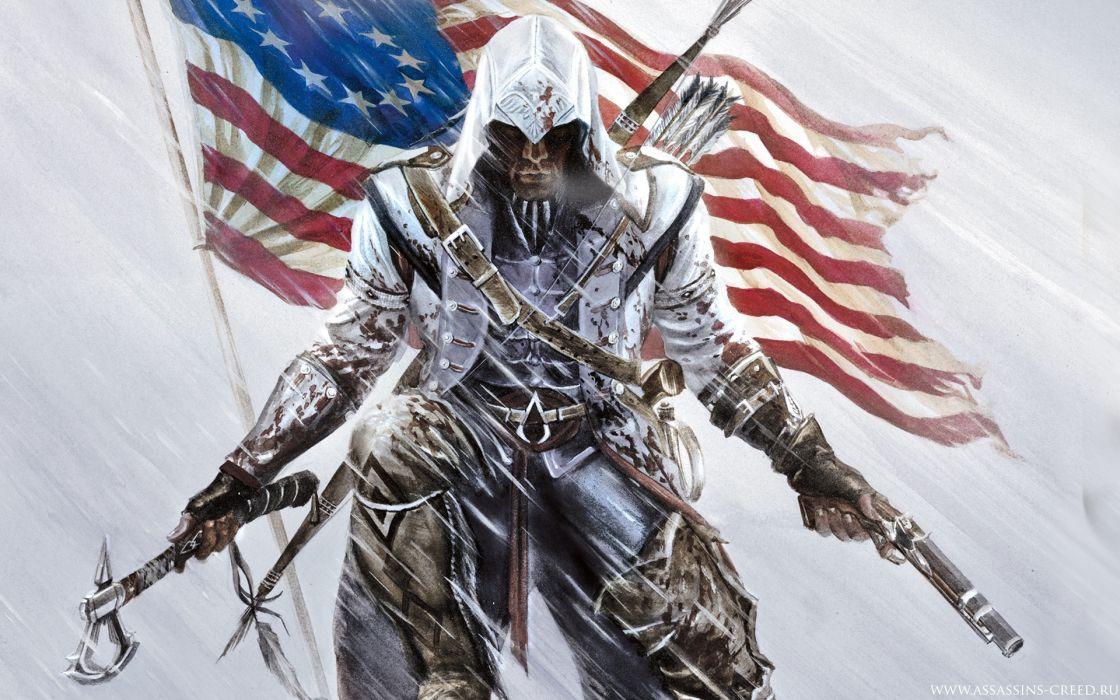 Assassin's Creed 3 Games wallpaper