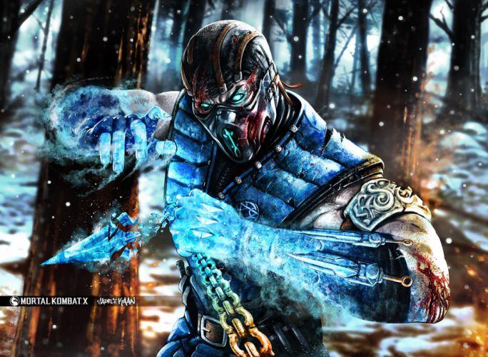 Mortal Kombat Warriors Sub-Zero Games Fantasy wallpaper