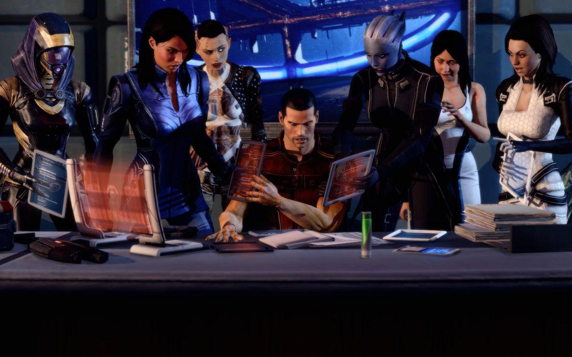 Mass Effect Mass Effect 3 Games Girls wallpaper