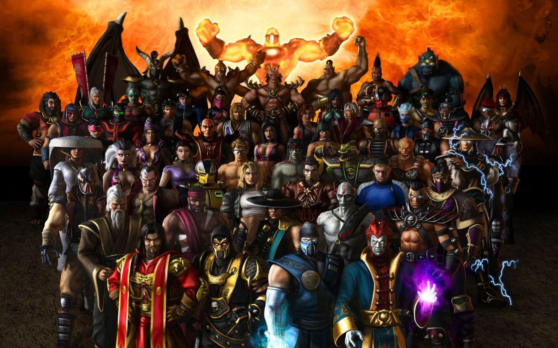 Mortal Kombat Games wallpaper