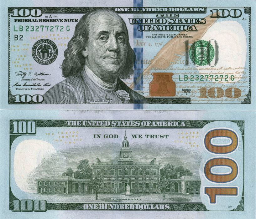 Money Banknotes Dollars 100 wallpaper