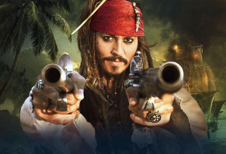 Pirates of the Caribbean Johnny Depp Movies wallpaper
