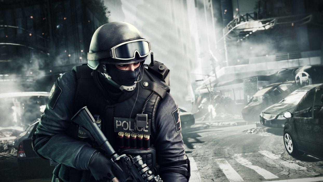 Point Blank Warriors Men Contr Terrorists Helmet Police Games 3D Graphics wallpaper