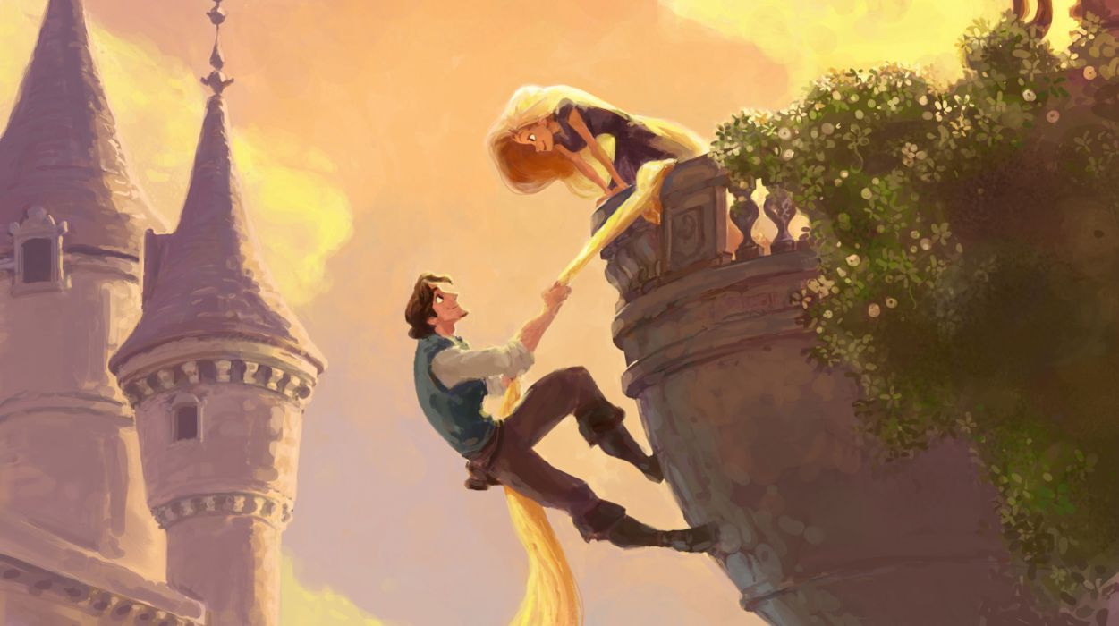 Tangled Cartoons wallpaper