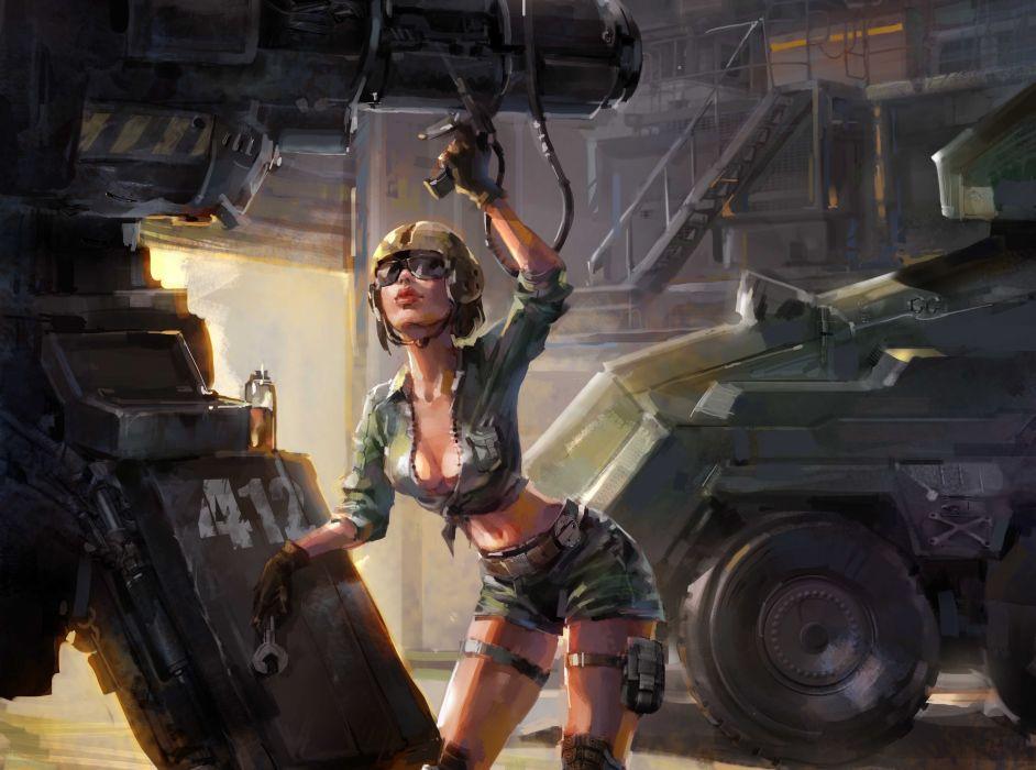 fantasy-military-girls