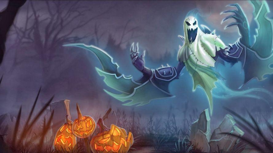 espiritu calabaza fantasmas halloween wallpaper