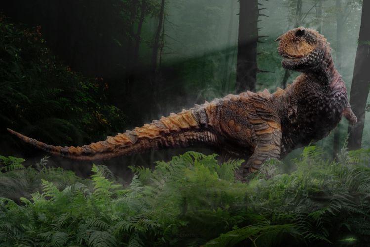 Dinosaurs Carnotaurus Animals wallpaper