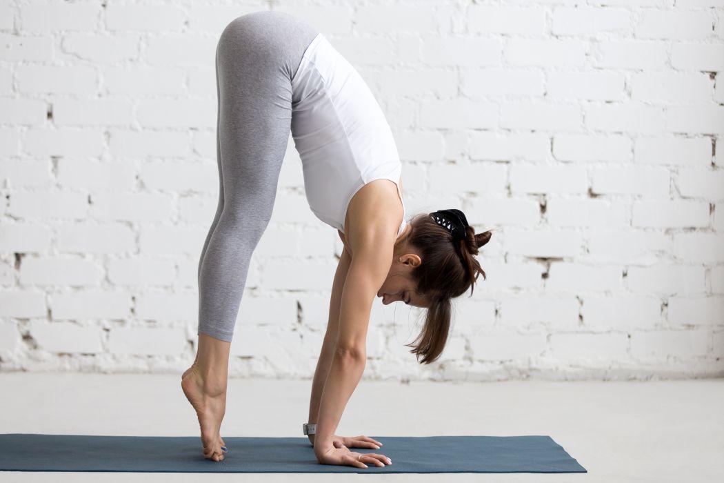 Fitness Gymnastics Brown wallpaper