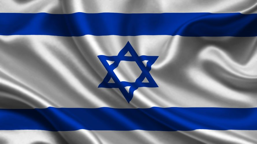 Israel Flag Stripes wallpaper