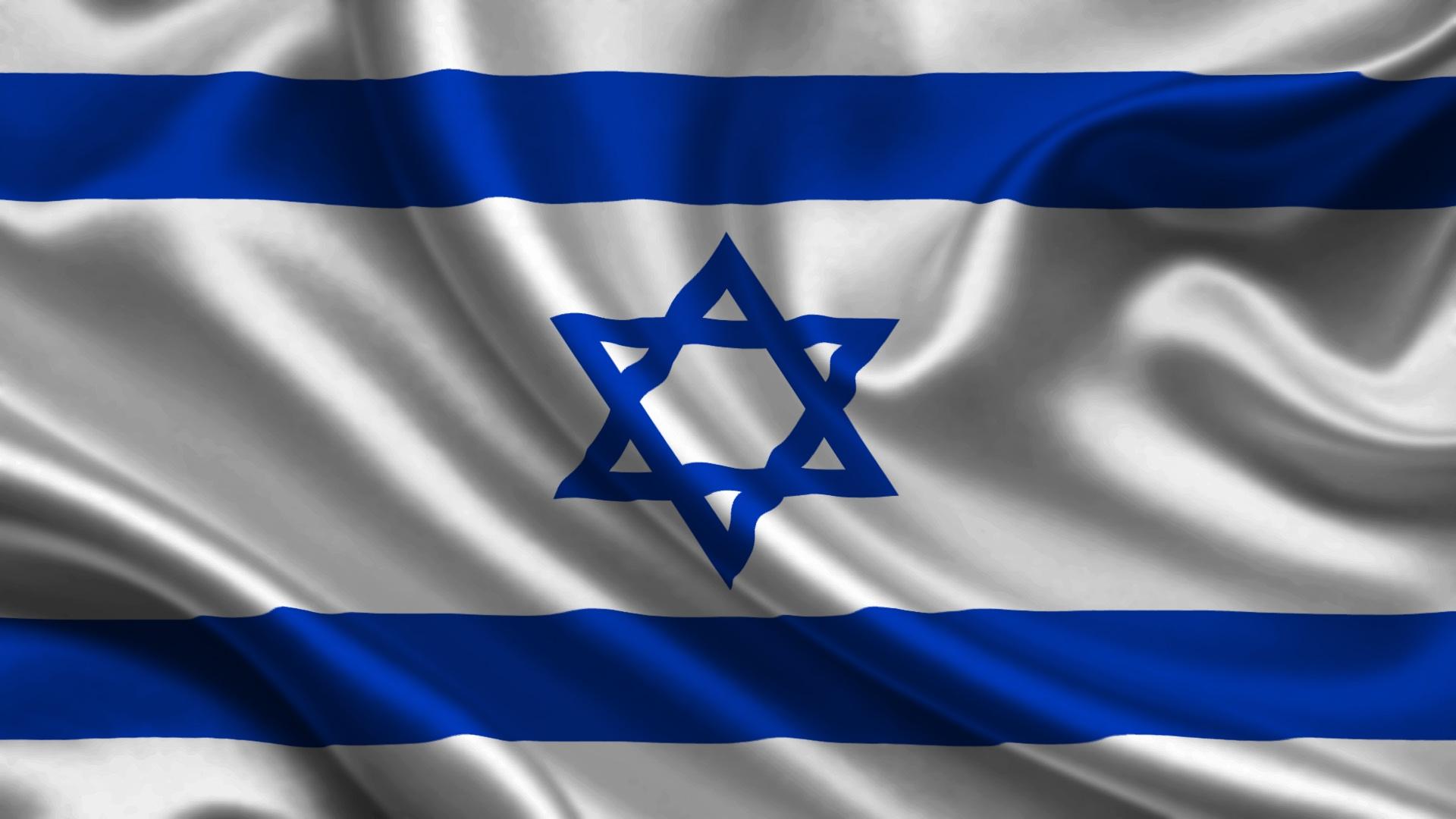 обои для рабочего стола флаг израиля № 389458  скачать