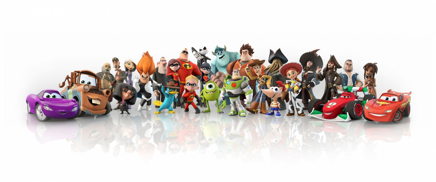 Monsters Inc Toys Toy Story Pirates Pirates of the Caribbean The Incredibles Pixar Cartoons Fantasy Movies wallpaper