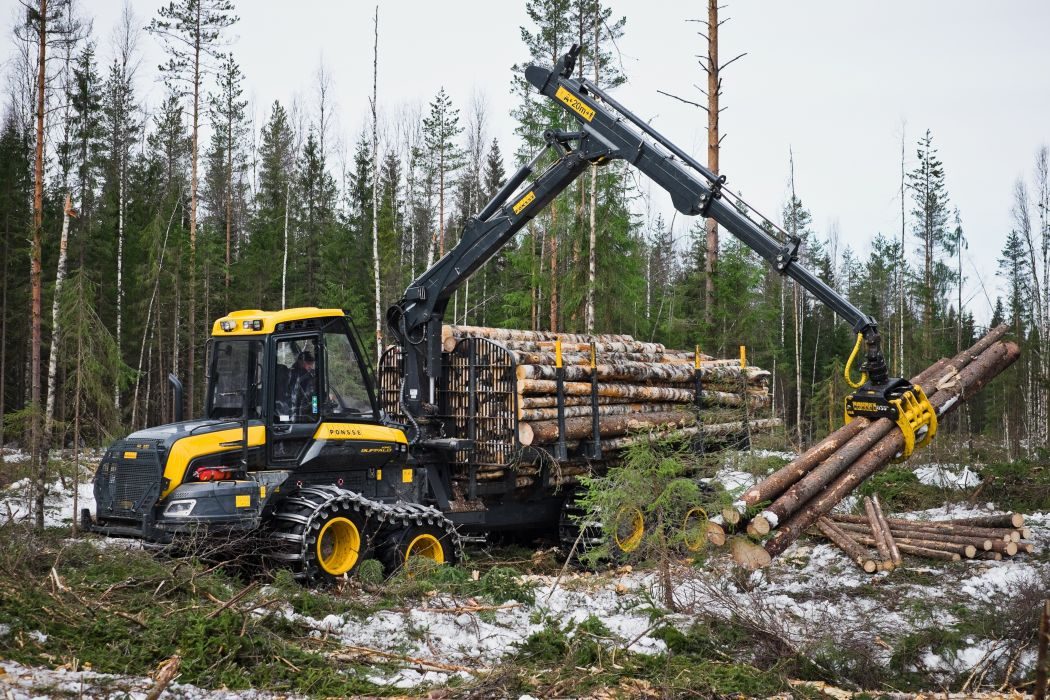 Ponsse BuffaloKing Forwarder Wood wallpaper