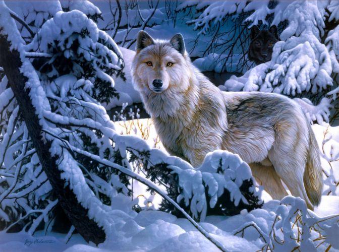 Wolves Animals wallpaper