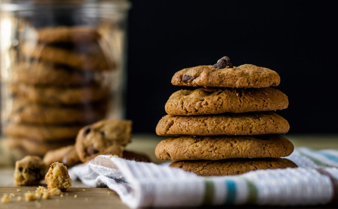 cookies crumbs dessert food pastry pile sweets wallpaper