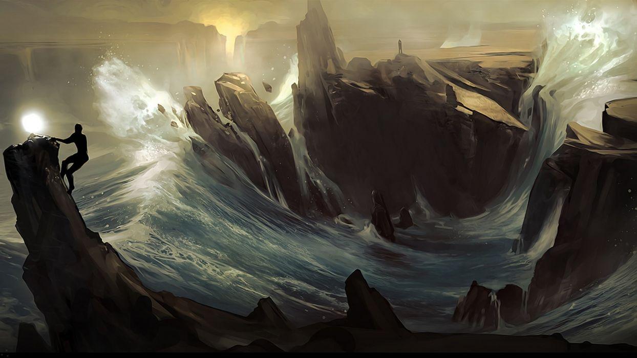 fantasy Art sea beauty ocean wallpaper