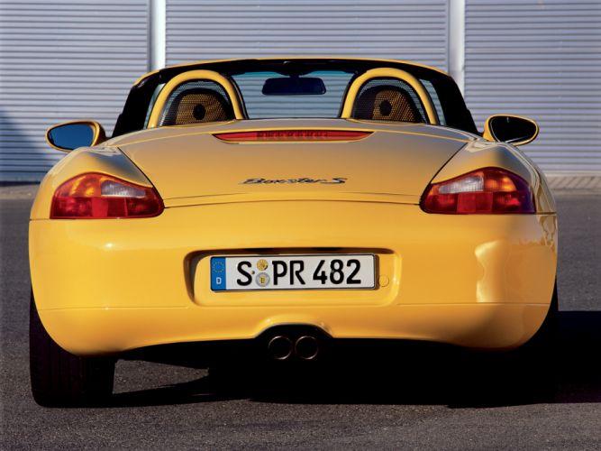 Porsche Boxster S 986 MkI wallpaper