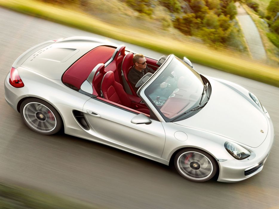 Porsche Boxster S 981 wallpaper