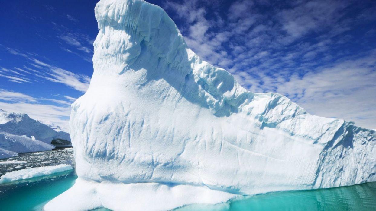 -winter-beautiful-landscape-ocean-nature-white-ice-iceberg-amazing wallpaper