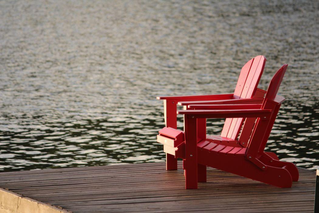 Wondrous Bench Blur Chair Dock Freedom Idyllic Lake Leisure Ocean Short Links Chair Design For Home Short Linksinfo