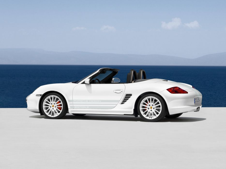 Porsche Boxster S Porsche Design Edition 2 987 MkI wallpaper