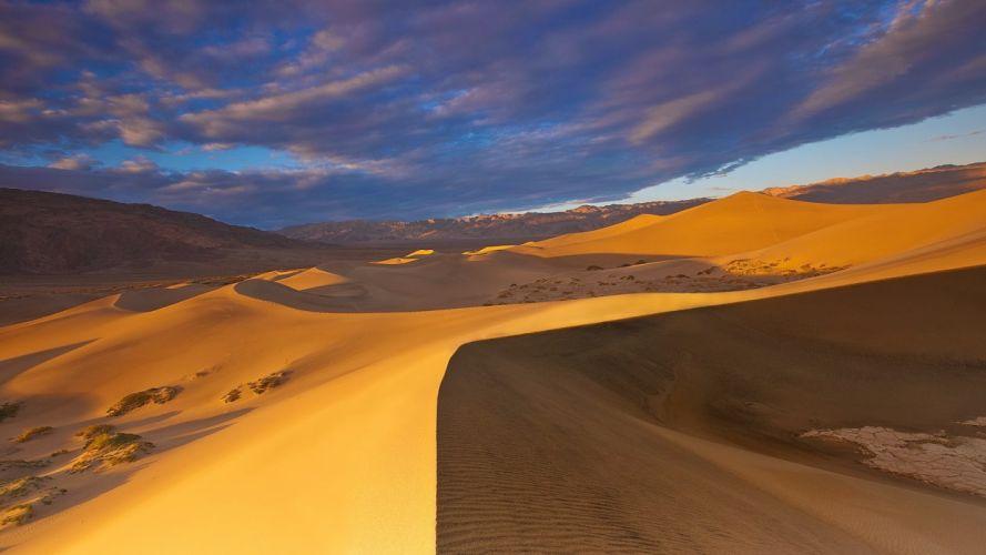 Desierto Sahara Naturaleza arena wallpaper