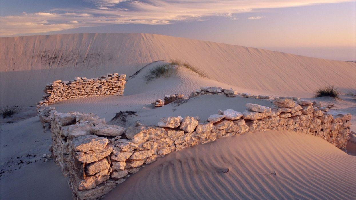 piedras desierto dunas naturaleza wallpaper