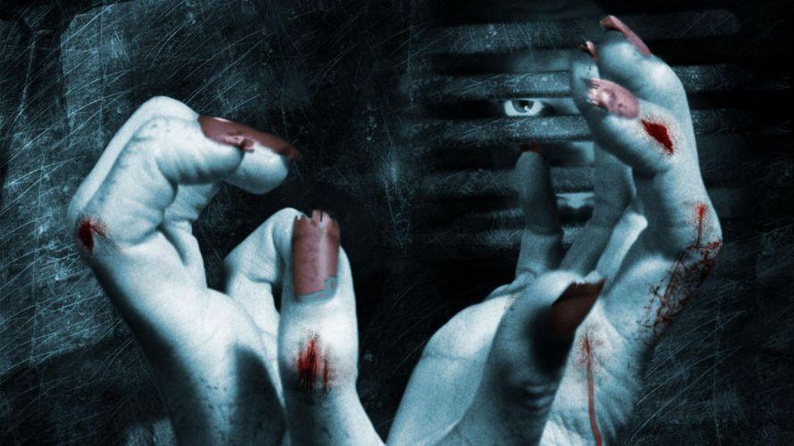 Hands-nails-finger-captivity-blood-scratches wallpaper