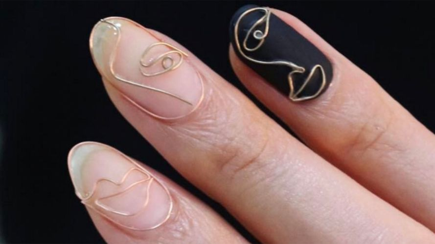 Hands-nails-finger-manicure-wire wallpaper