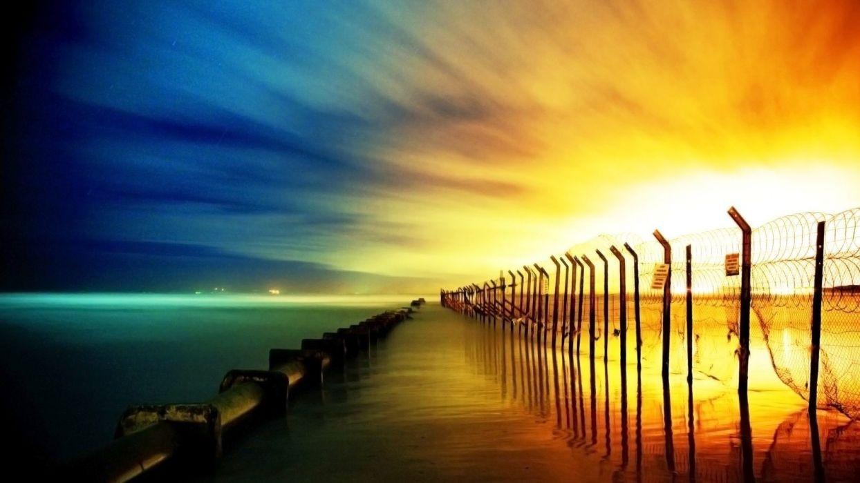 ocean-sea-photography-stunning-nature-beaches-sunset-beach wallpaper