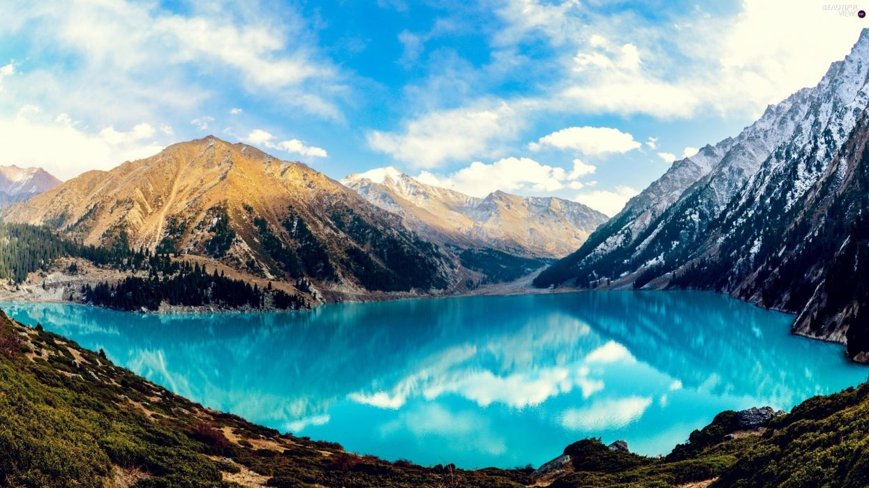 naturaleza lago montay wallpaper