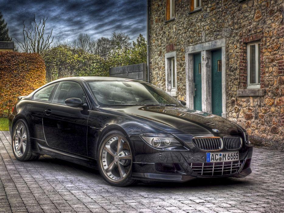 BMW Black HDR Cars wallpaper