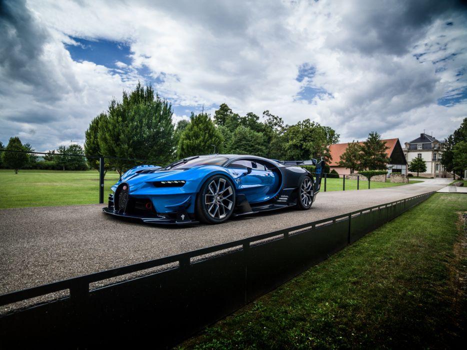 BUGATTI Roads 2015 Vision Gran Turismo Luxury Cars wallpaper