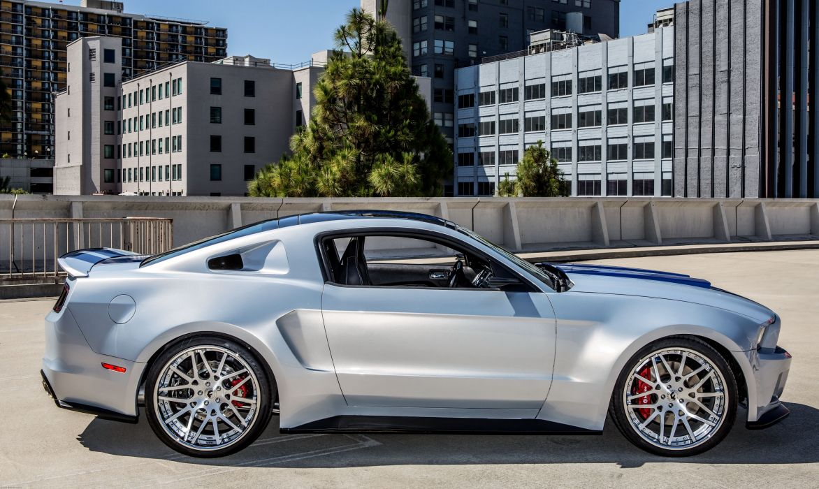 Ford 2013 Mustang NFS Hero Car Silver wallpaper