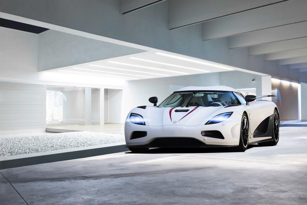 Koenigsegg Agera R Front White Cars wallpaper