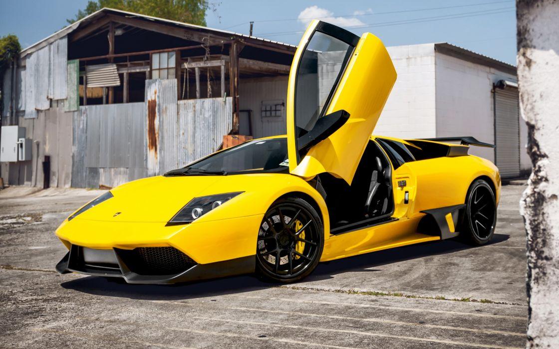 Lamborghini Murcielago Yellow Luxury Cars Wallpaper 3000x1875