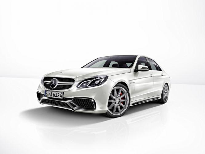 Mercedes-Benz 2013 E 63 W212 AMG S White Luxury Cars wallpaper