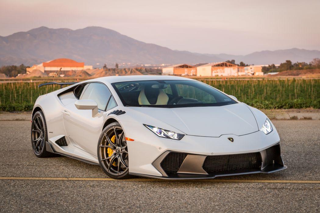 Lamborghini Tuning 2016 Vorsteiner Huracan Novara White wallpaper