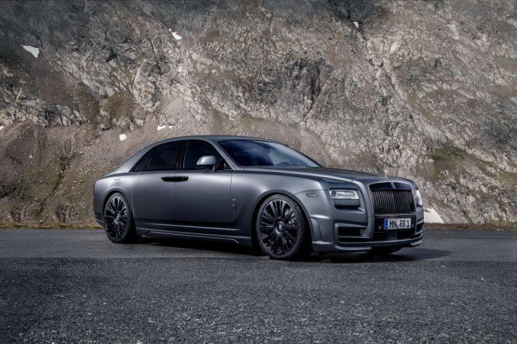 Rolls-Royce 2014 Ghost (Spofec) Grey Luxury Cars wallpaper