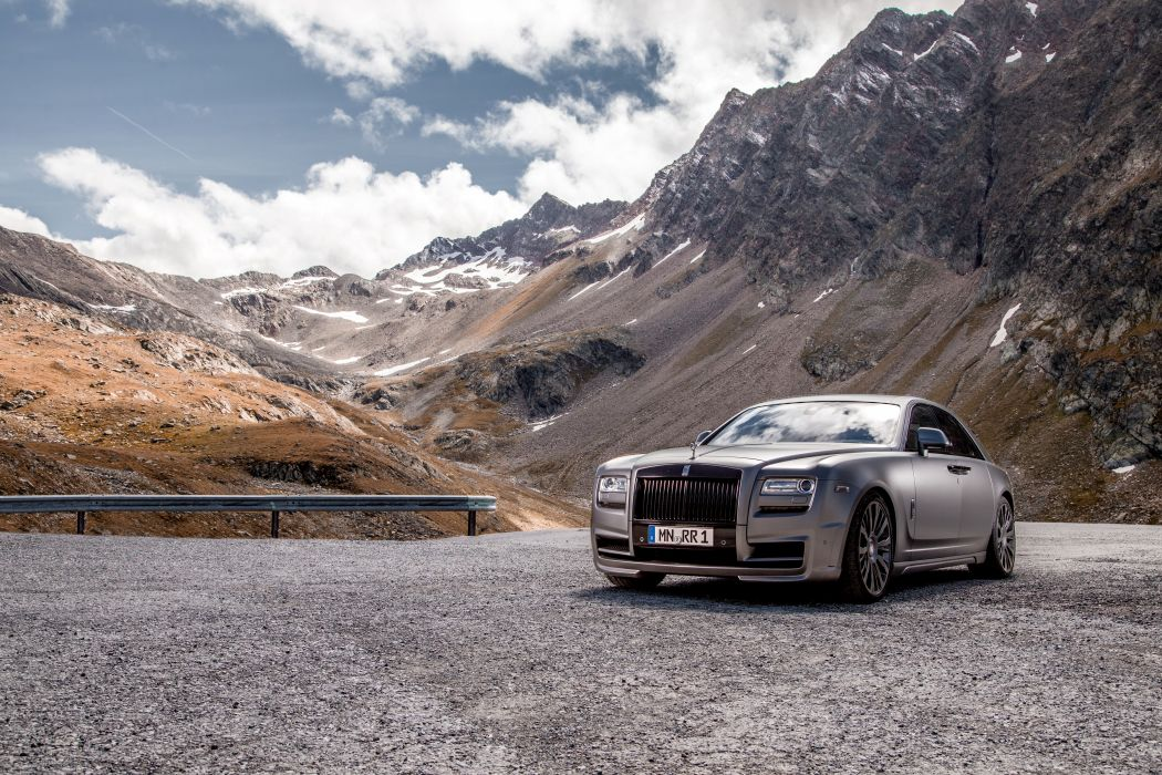 Rolls-Royce Tuning Mountains 2014 Ghost wallpaper