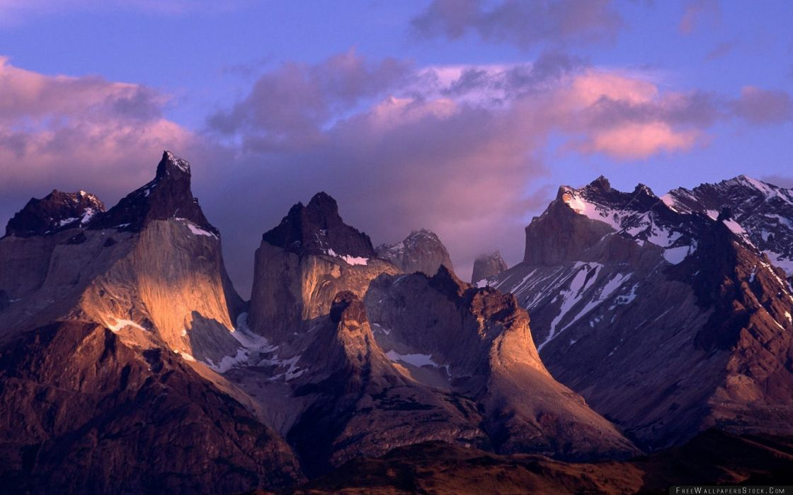 cuernos paine andes chile montay wallpaper