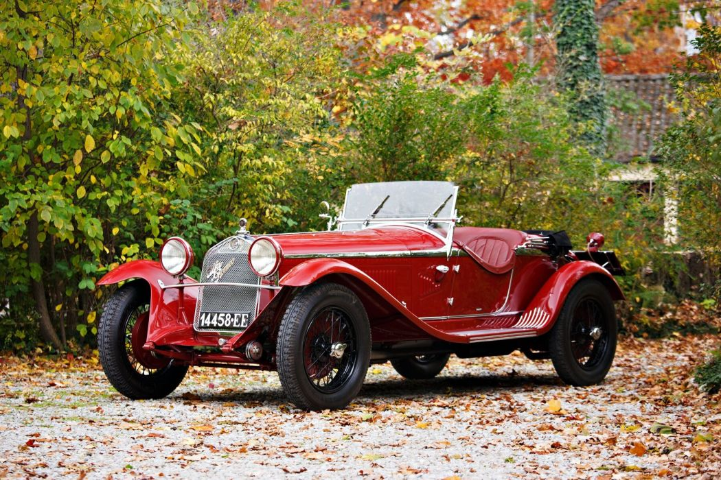Alfa Romeo 6C 1750 GS Parigi 1929 wallpaper