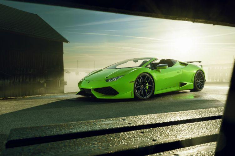 Novitec Torado Lamborghini HuracyAn LP610-4 N-Largo 2017 wallpaper