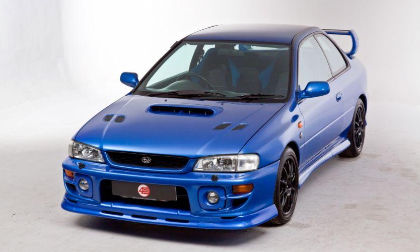 Subaru Impreza P1 Prototype 1999 wallpaper