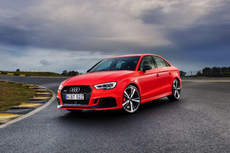 Audi RS3 Sedan 2017 wallpaper
