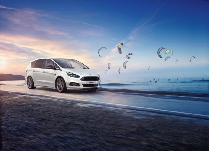 Ford S-MAX ST-Line 2017 wallpaper